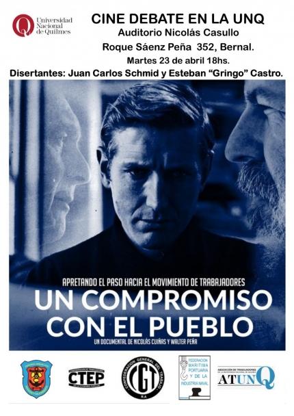 Cine debate Un compromiso con el pueblo