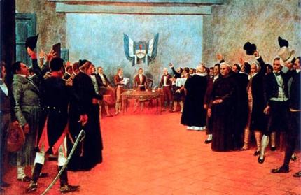 Congreso de Tucumaacuten por Francisco Fortuny