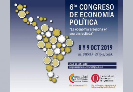 6to Congreso de Economiacutea Poliacutetica