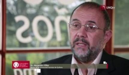 Nodal conversó con el rector de la UNQ