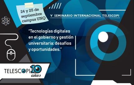 Seminario Internacional Telescopi 2019