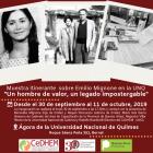 Muestra itinerante sobre Emilio Mignone en la UNQ