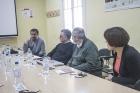 Reunión entre la UNQ y representantes de la Asociación de Universidades Grupo Montevideo