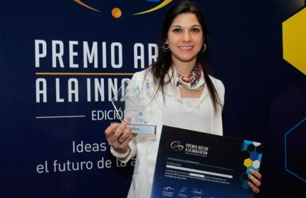 Paula Bucci ganadora del Premio Arcor a la Innovación 2019