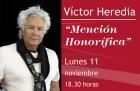 Mención Honorífica para Victor Heredia