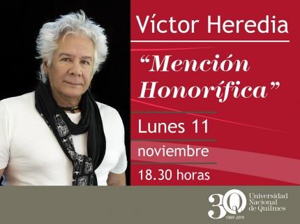 Mencioacuten honoriacutefica Victor Heredia