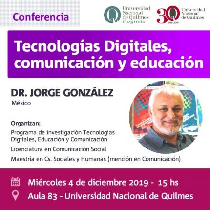 Conferencia Gonzalez