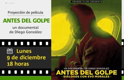 Antes del golpe del director Diego González