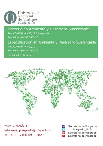 Afiche ambiente 2020