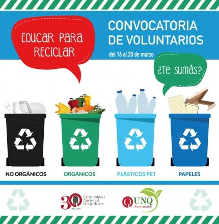 Educar para reciclar
