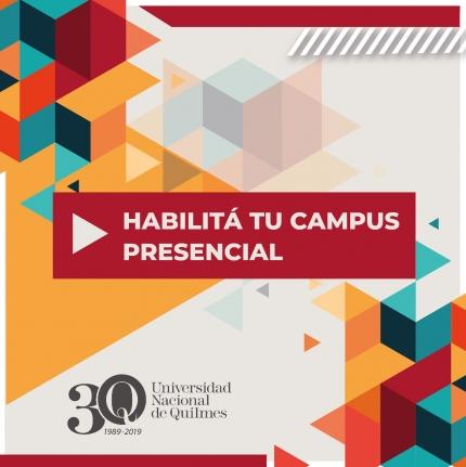 Cómo habilitar el campus presencial