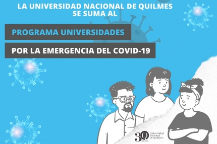 Programa Universidades por la emergencia del COVID-19