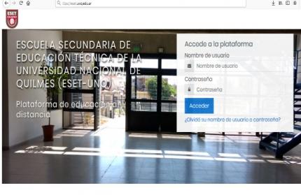 Campus Virtual ESET-UNQ