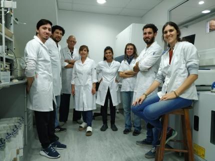 Ela-chemstrip El equipo de investigadores de la UNQ