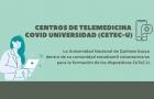 Convocatoria a voluntarios para atención de los Centros de Telemedicina COVID Universidad