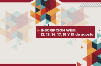 Inscripción Web 2020 a carreras de pregrado y grado de modalidad presencial