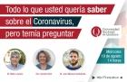 Charla Todo lo que usted quería saber sobre el Coronavirus pero temía preguntar