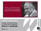 Premio Internacional de Derechos Humanos Emilio Mignone