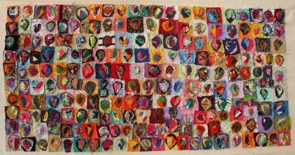 Redondo A M 2020 Distancias Arte textil En Sociales y Virtuales y Programa de Cultura Coords exposición artística YoMeQuedoEnCasa Bernal UNQ