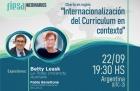 Webinario sobre internacionalización del curriculum