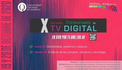 X Jornadas Transversales de TV Digital