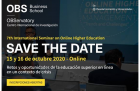 7th International Seminar on Online Higher Education