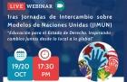 I Jornadas de Intercambio sobre Modelos de Naciones Unidas JIMUN