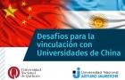 Se realizó el Webinario Desafíos para la vinculación con Universidades de China