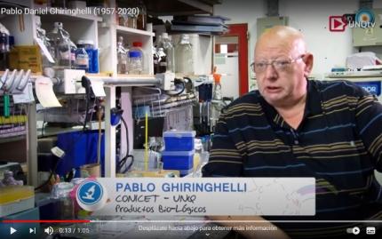 Video homenaje al Prof Pablo Daniel Ghiringhelli