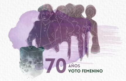 A 70 antildeos del voto femenino en Argentina