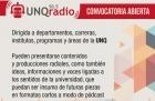 Convocatoria UNQ Radio FM 915