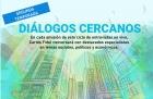 Ciclo de entrevistas en vivo Diálogos Cercanos