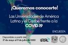 Encuesta Las Universidades de América Latina y el Caribe frente al COVID-19