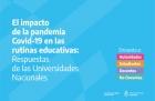 Impacto de la pandemia COVID-19 en las rutinas educativas de las universidades