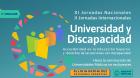 Comenzaron las XI Jornadas Nacionales y II Internacionales Universidad y Discapacidad